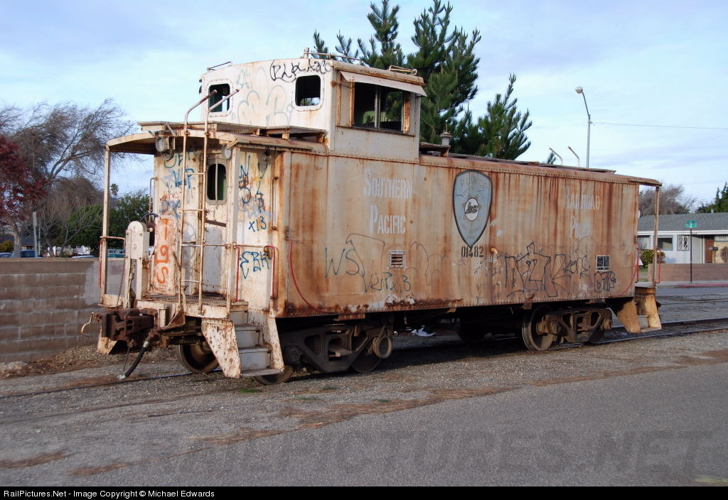 Southern Pacific Caboose Car
