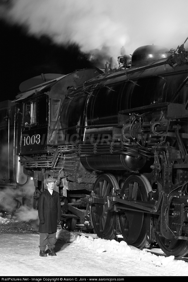 SOO 1003 Soo Line Steam 2-8-2 at