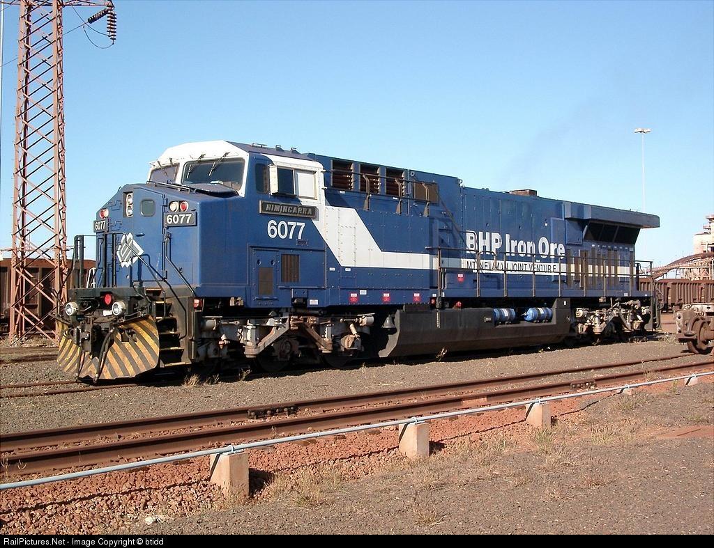 Railworks America • View topic - BHP Iron Ore AC6000 W I P