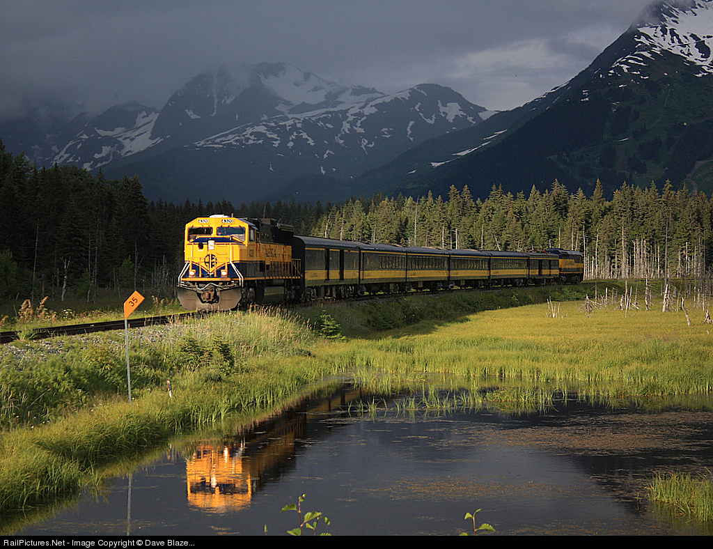 Alaska railroads