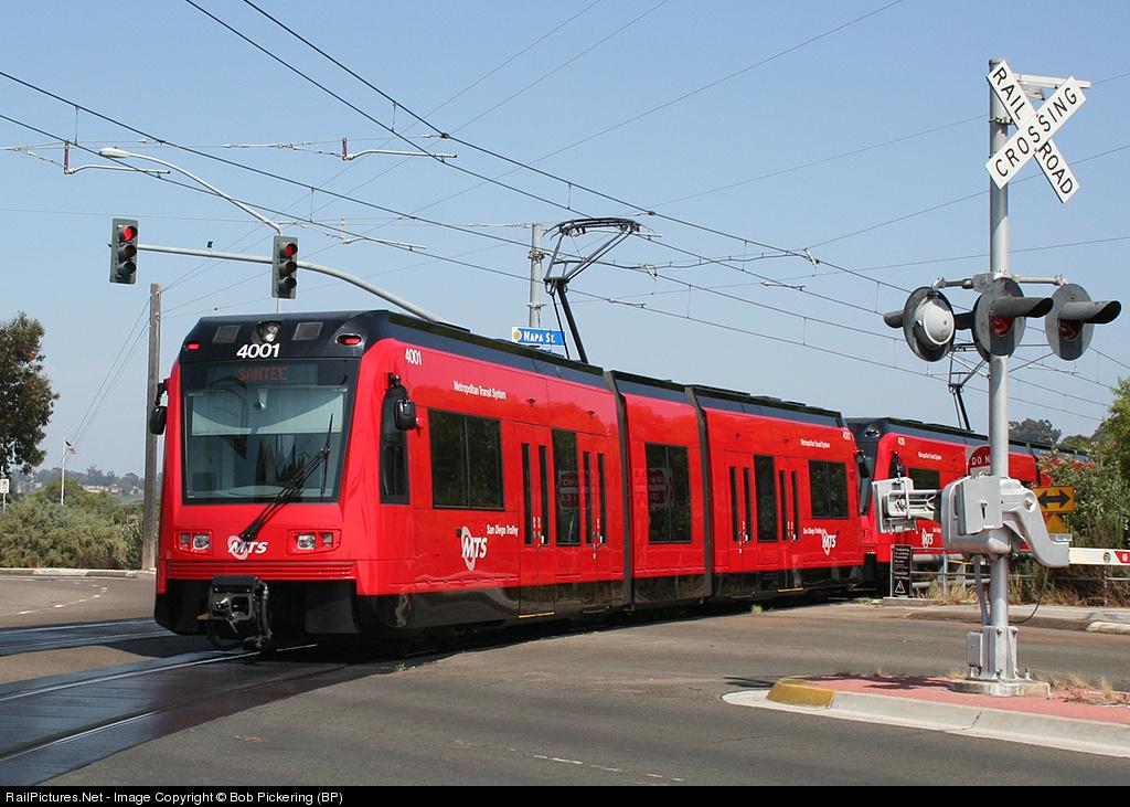 Trolleys San San Diego Trolley Siemens