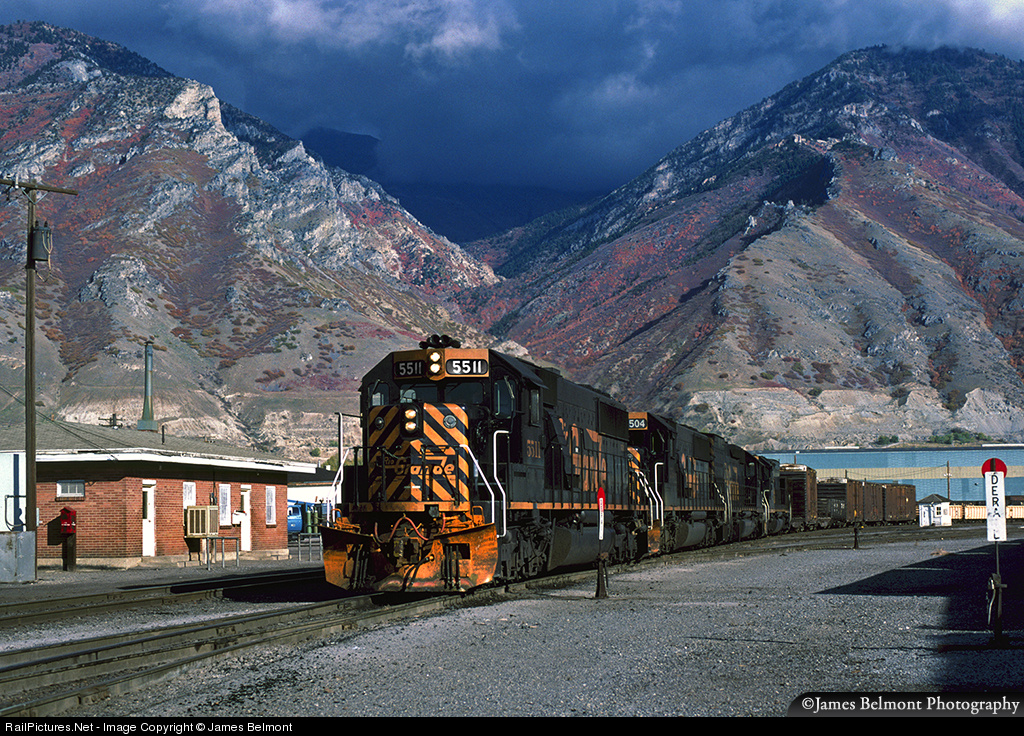 RailPictures Net Photo: DRGW 5511 Denver & Rio Grande