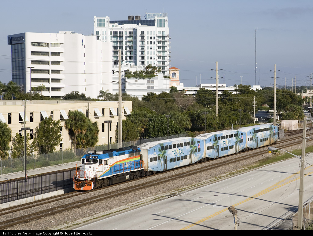 West Palm Beach Tri Rail Location