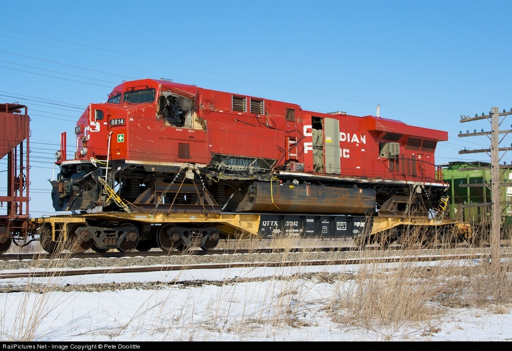 RailPictures Net Photo: CP 8814 Canadian Pacific Railway GE