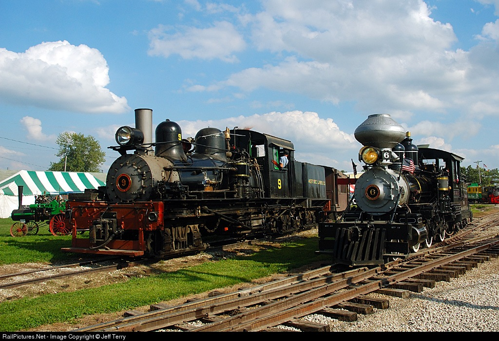 Shay operatingat midwest central railroad in mt pleasant iowa images