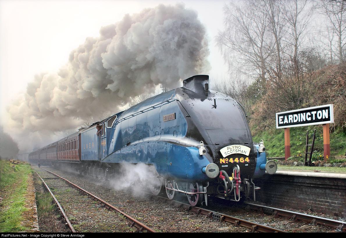 LNER A4 clasa 4-6-2 Bittern