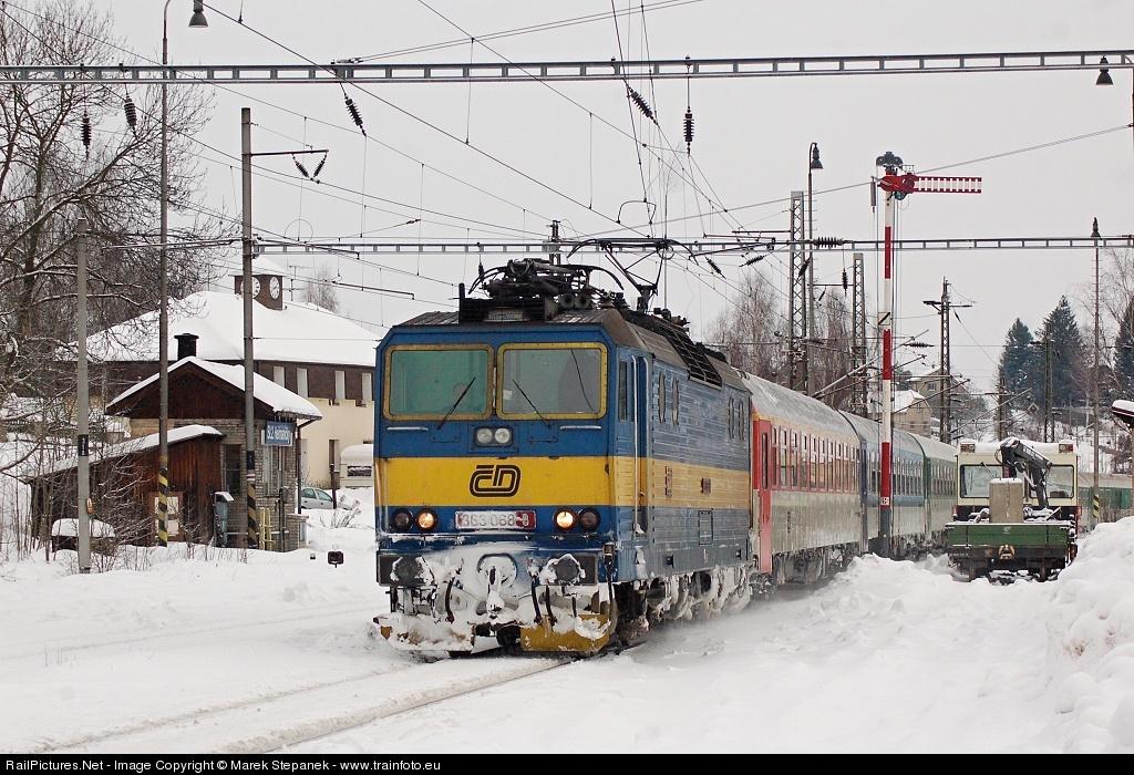 RailPictures.Net Photo: 363.068 Czech Railways CD 363. at ...