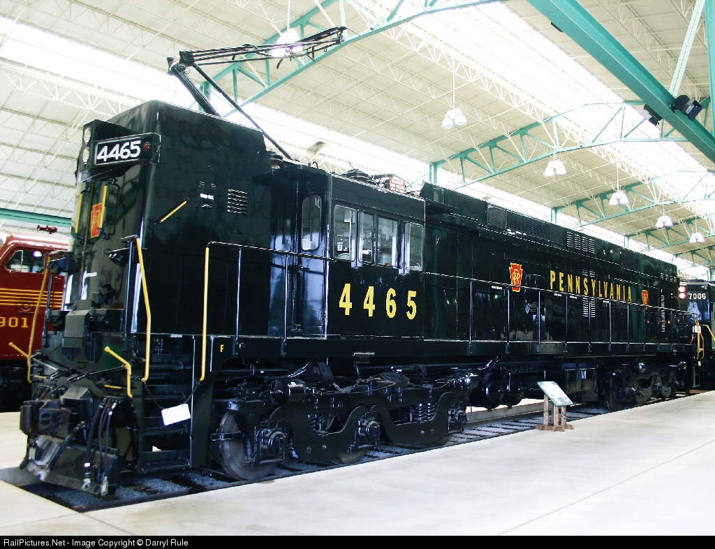 RailPictures.Net Photo: PRR 4465 Pennsylvania Railroad E-44 (electric) at  Strasburg, Pennsylvania by Darryl Rule