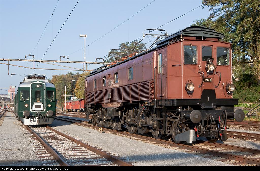 Gotthardlokomotive der sbb be 4 6 ho ac in tafers fr for Depot kamen