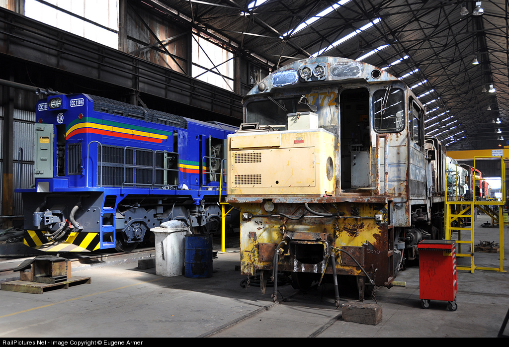 RailPictures Net Photo: 1772D RRL Grindrod South Africa ex