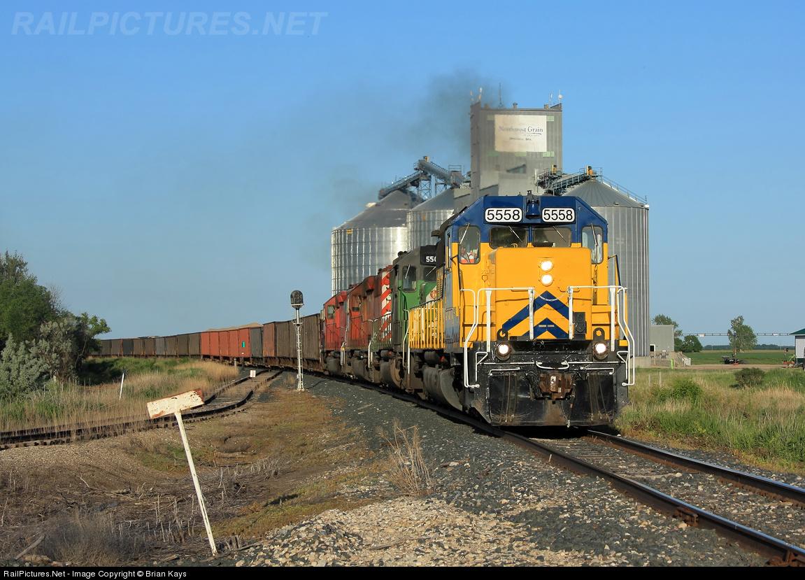 Northern Plains Railroad No. 3511 (GP35), Minnesota, Barre… | Flickr