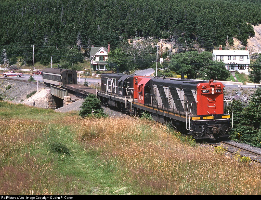 newfoundland railway The a l blackman syndicate of the usa began construction of the newfoundland railway on 9 august 1881 under the.