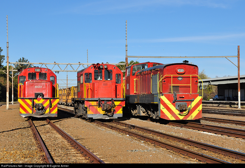 RailPictures Net Photo: RB201, 91-03 RRL Grindrod South Africa Class