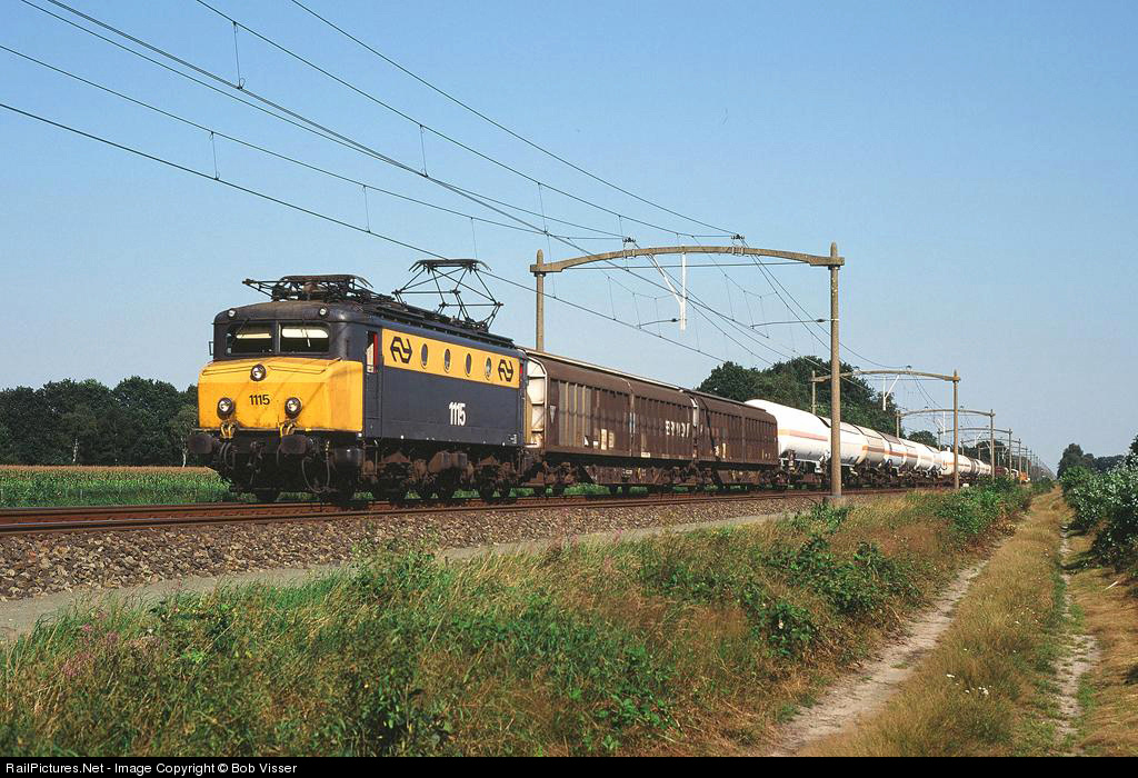 RailPictures.Net Photo: NS 1115 Nederlandse Spoorwegen NS 1100 at ...