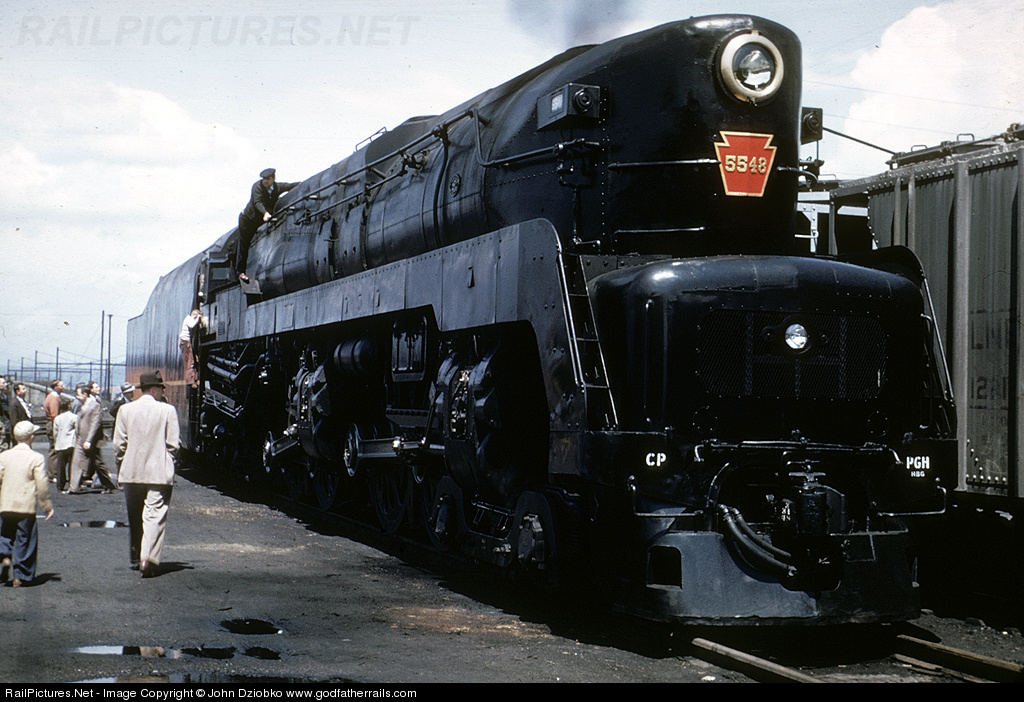 Image result for pennsylvania railroad 4-4-4-4