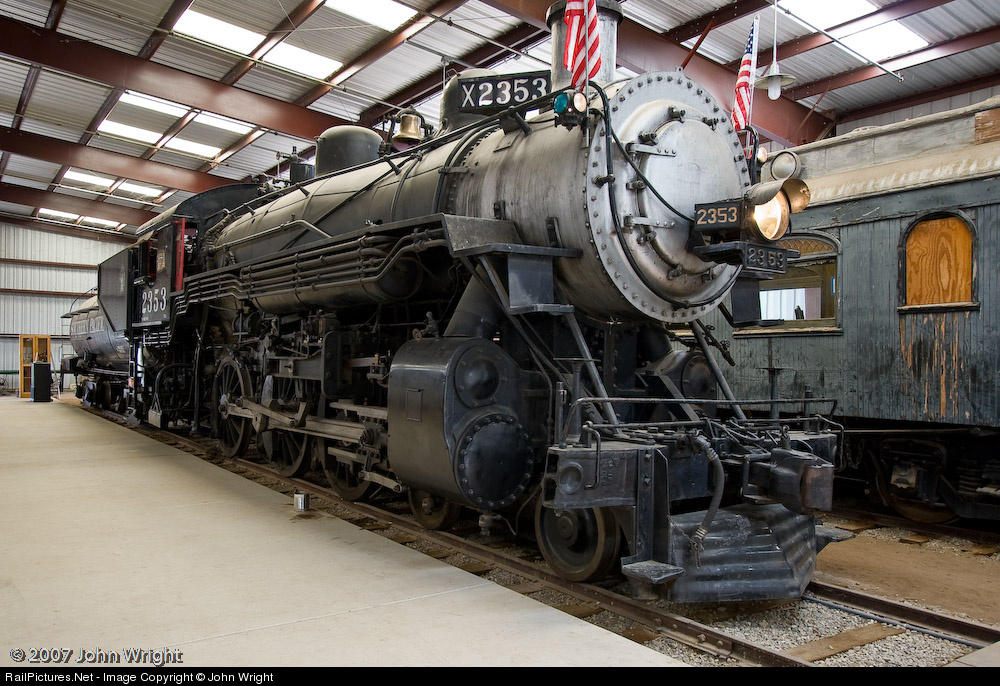 Net Photo: 2353 Southern Pacific Railroad Steam 4-6-0 at Campo, California  by John Wright