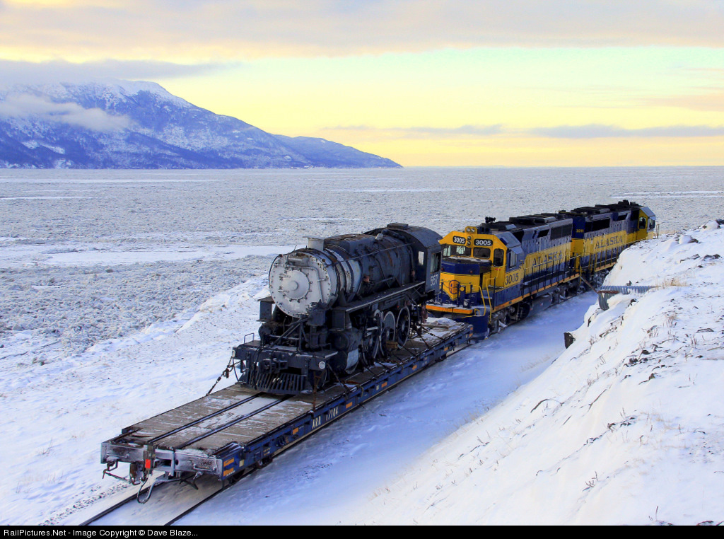 RailPictures.Net Photo: ARR 3011 Alaska Railroad EMD GP40-2 at South on russia and bering strait map, pa pennsylvania railroad map, state of alaska bering straits map, old alaska railroad map,