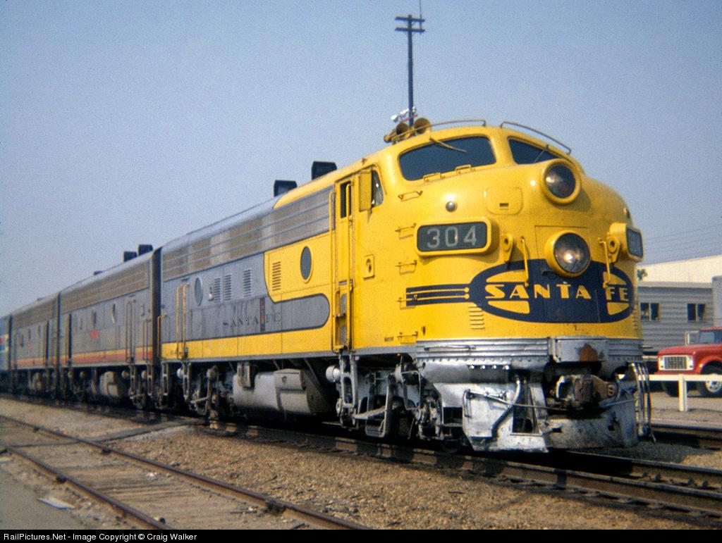 Santa Fe Bluebonnet Classic Trains Magazine Railroad History Vintage Train Videos Steam Locomotives Forums