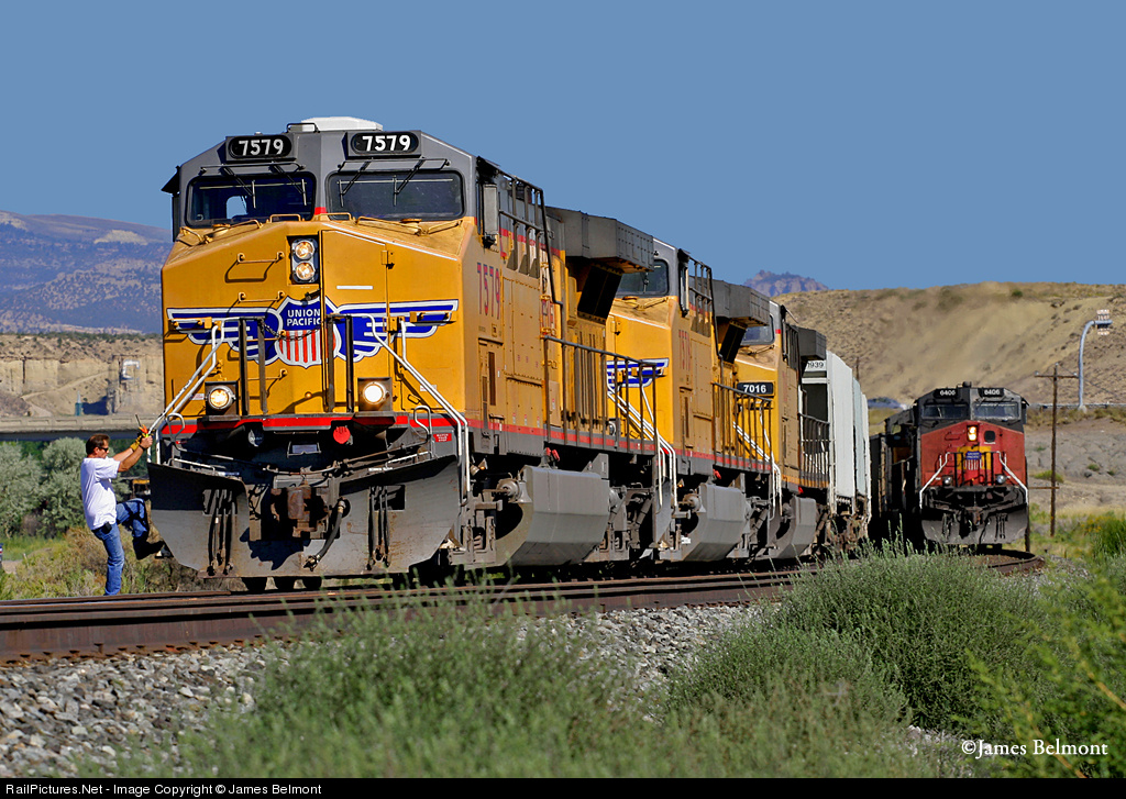 RailPictures Net Photo: UP 7579 Union Pacific GE AC6000CW at