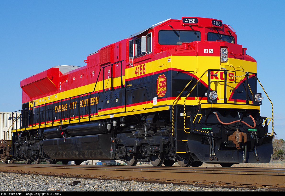 Railworks America • View topic - KCS SD70ACe on the BNSF Wisper Cab ACe