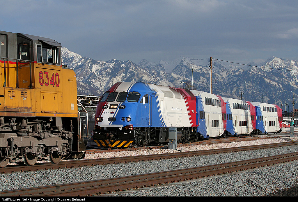 off off topic but the utah uta frontrunner is also very appealing and