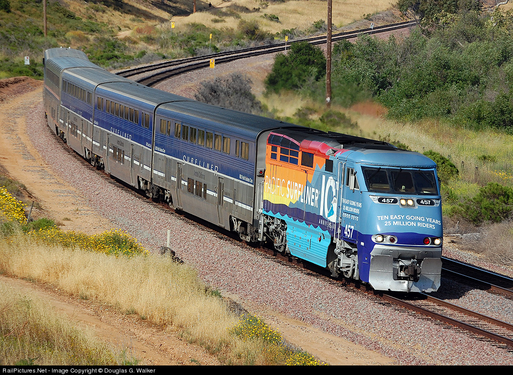 Image Result For Amtrak Map California
