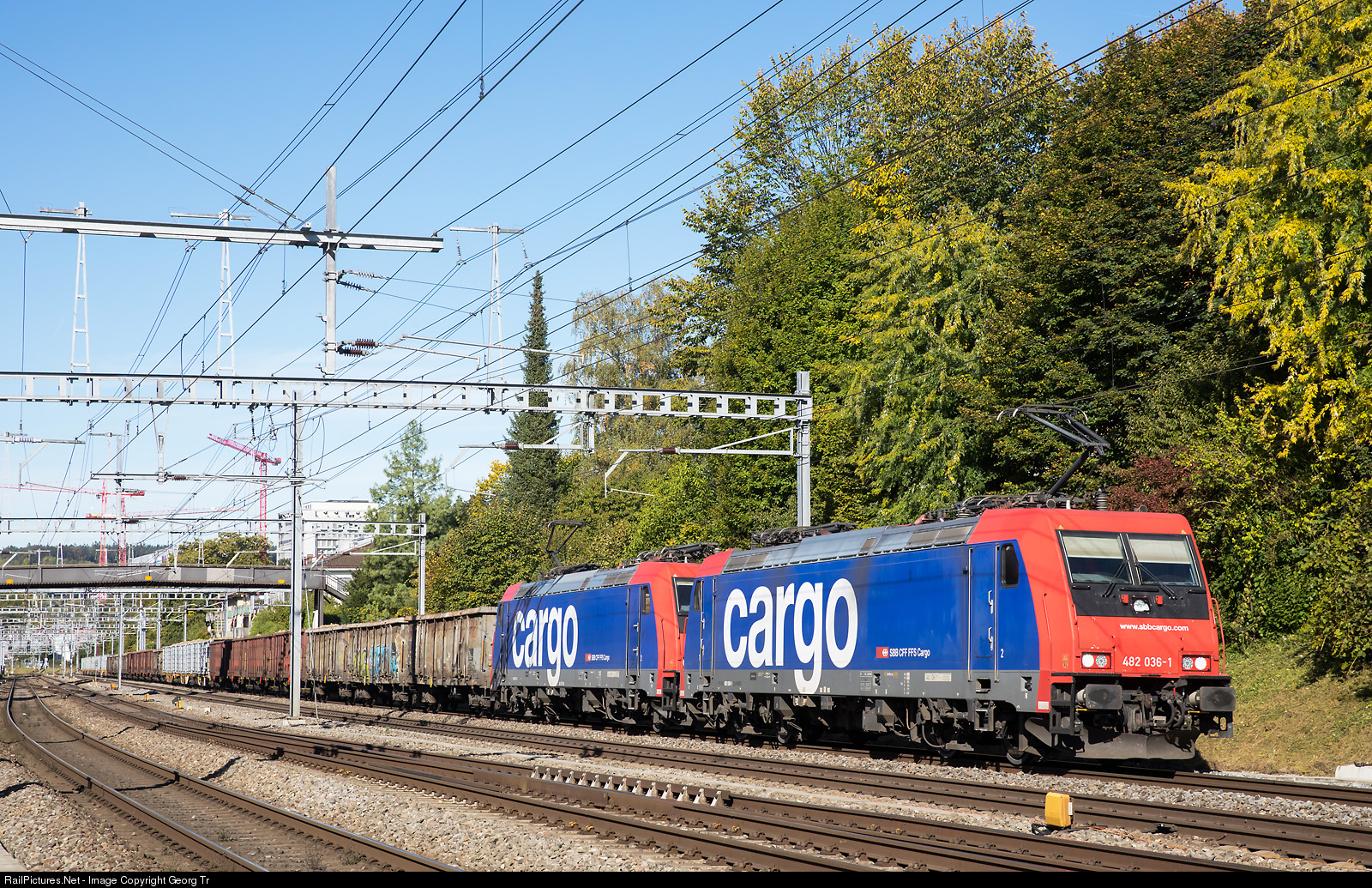 RailPictures.Net Photo: 482 036, 047 SBB Re 482 at ...