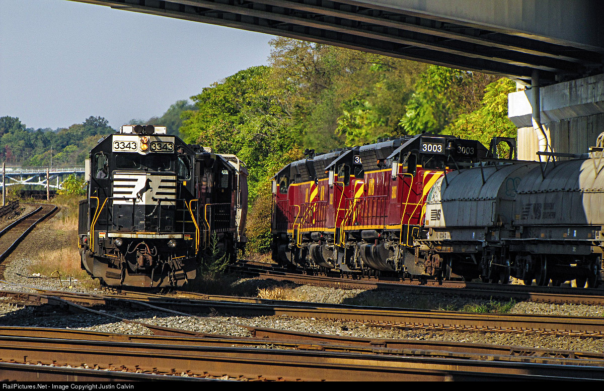 Norfolk Southern Action On The Pittsburgh Line 7 5 16 Locomotive Details