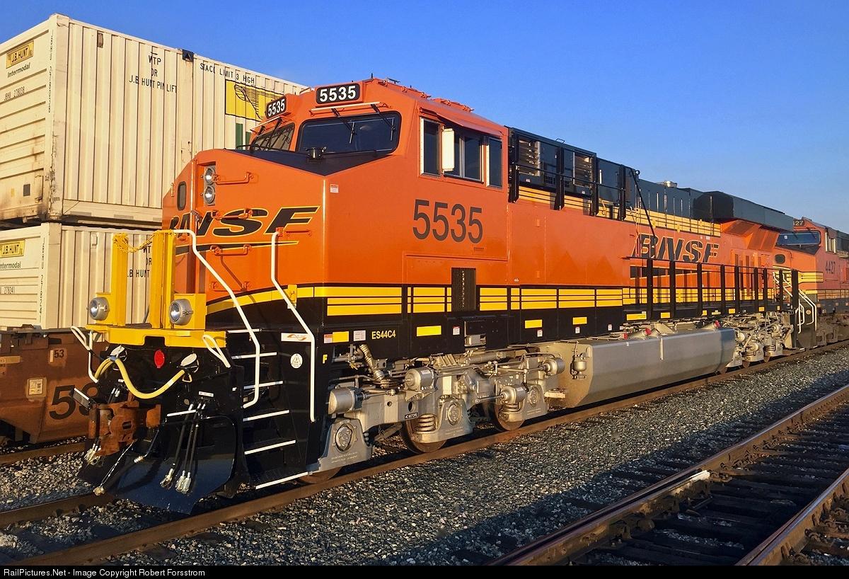 RailPictures Net Photo: BNSF 5535 BNSF Railway GE ES44C4 at