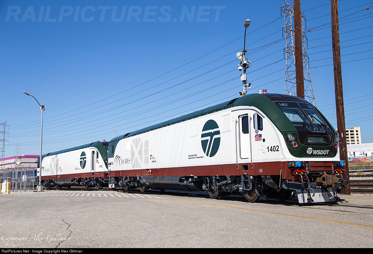 Net Photo: WDTX 1402 Amtrak Siemens SC-44 at Los Angeles, California by  Alex Gillman