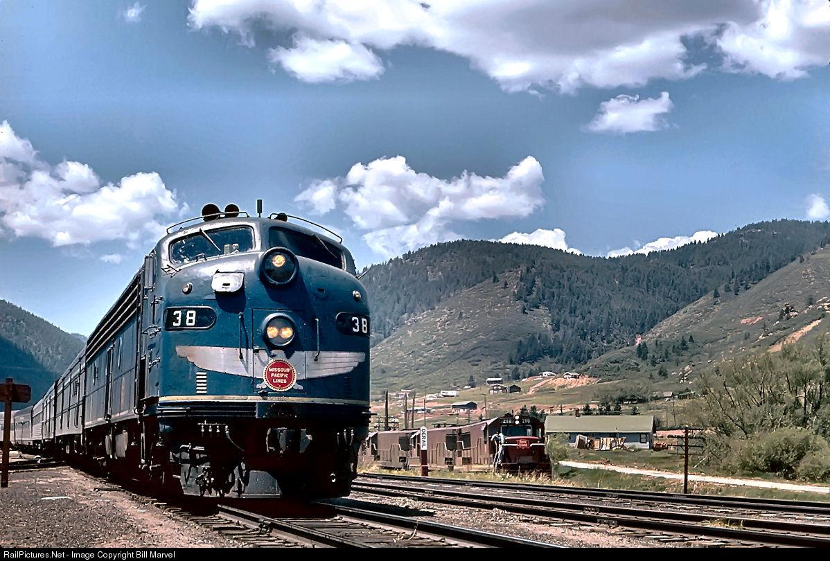 Missouri Pacific Passenger Trains: The Postwar Years Missouri pacific railroad pictures
