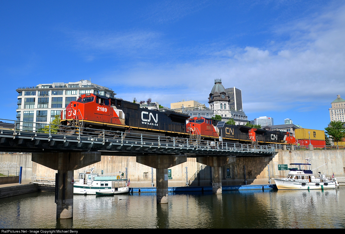 RailPictures Net Photo: CN 2189 Canadian National Railway GE