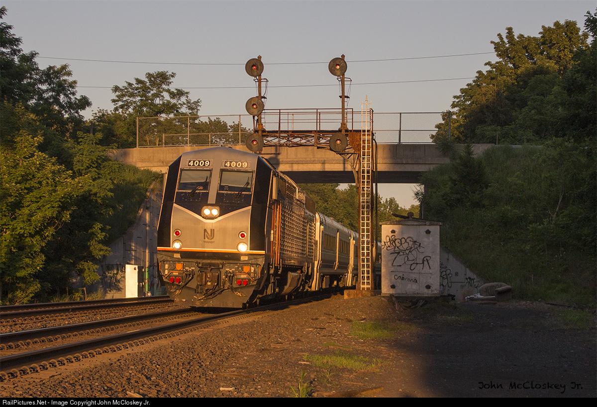RailPictures Net Photo: NJTR 4009 NJ Transit Alstom PL42AC at